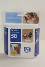 Genuine HP 58 Photo Ink Cartridge C6658AN EXPIRED 2004