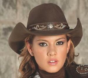 HANGIN' OUT Chocolate Premium Wool Western Rodeo Cowboy Hat Bullhide MonteCarlo