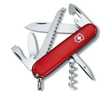 1.3613 VICTORINOX SWISS ARMY CAMPER RED POCKET KNIFE 13 TOOLS 53301