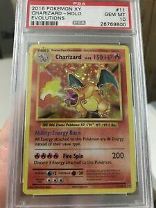 PSA 10 Evolutions Charizard 11/108 Holo Pokemon Card GEM MINT