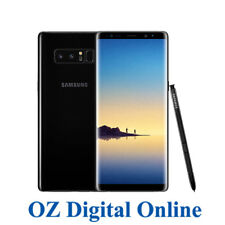 "NEW Samsung Galaxy Note 8 Dual Sim N950 256GB Black 4G 6.3"" Unlocked Phone 1YrWy"