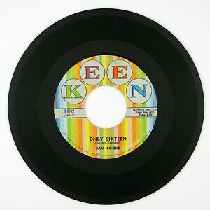 SAM COOKE Only Sixteen 7IN 1959 TEEN POP VG++