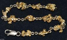 Handmade Yellow Gold Chain Fine Bracelets