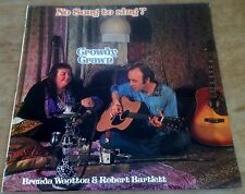 CROWDY CRAWN no song to sing 1974 UK SENTINEL STEREO LP + INNER BRENDA WOOTTON