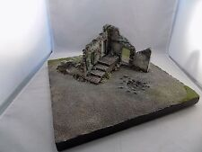 KING & COUNTRY DIORAMA build by GORDON NEILSON signed size 15x15x1  (SBT 1)