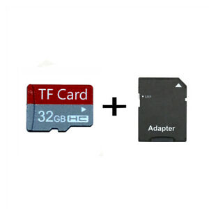 32GB 64GB MicroSD SDHC Class 10 TF Memory Card UHS-I 20MB/s With Free Adapter