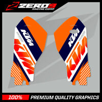 KTM SX SXF 2015-20 EXC EXC-F 2016-20 MOTOCROSS GRAPHICS LOWER FORK DECAL TEAM