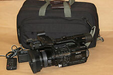 Sony HVR-Z1U NTSC/PAL Camcorder 1080 HD Video Camera Carl Zeiss 118675-1 tested