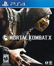 MORTAL KOMBAT X (PS 4, 2015) (5112)  SHIPS NEXT BUSINESS DAY   FREE SHIPPING USA