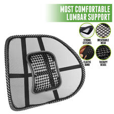 Cool Vent Brace Cushion Mesh Back Lumbar Support for Car Office Chair Truck Seat