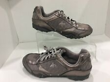 WOMEN'S ATHLETECH  NON MARKING ATHLETIC SHOES Taupe Color Size 6 VGC