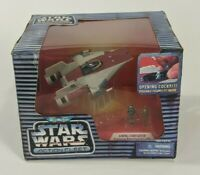 Vintage 1995 Micro Machines Star Wars Action Fleet A-Wing Starfighter Toy