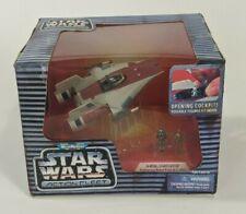 Vintage 1995 Micro Machines Star Wars Action Fleet A-Wing Starfighter Toy