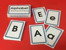 Alphabets Matching Cards Game - Cards for Learning Centers - Cards & Box