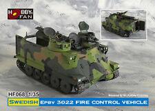 Hobby Fan 1:35 Scale Swedish EPBV 3302 Fire Control Vehicle Resin Kit HF-068