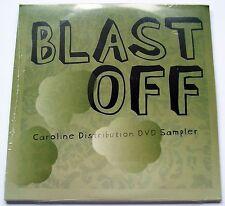 2005 - BLAST OFF - CAROLINE DISTRIBUTION DVD SAMPLER - RARE PROMO ONLY DVD - NEW
