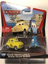 CARS DISNEY RACE TEAM LUIGI & GUIDO