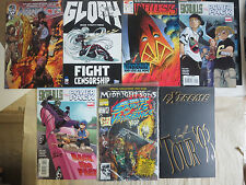 Signed Comic Books Lot of 7Diff Top Cow Image Fleetway Marvel Witchblade Extreme