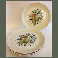 """Lenox ORCHARD IN BLOOM Set Of 4 Dinner Plates - 10 7/8"""" - Pear Blossom"""