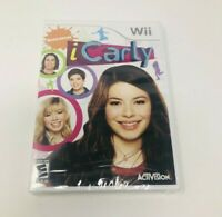 NICKELODEON iCarly (Nintendo Wii 2009) Brand New Factory Sealed