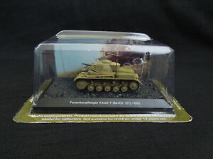 Panzerkampfwagen II ausf. F Diecast Amercom 1:72 German Tank Afrikakorps 1942