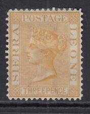 Sierra Leone 1876 3d Buff SG20 Fine Mtd Mint
