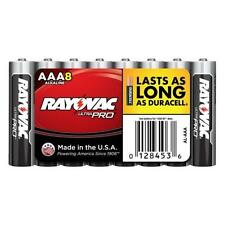 Rayovac UltraPro Alkaline Batteries, Aaa, 8 Pack (Al-Aaa)