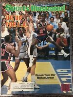 Michael Jordan Sports Illustrated Up, Up For L.A. Cover 7/23/1984 LABEL