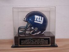 Display Case For Your Jason Taylor Miami Dolphins Signed Football Mini Helmet