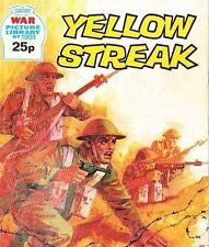 A Fleetway War Picture Library Pocket Comic Book Magazine #1991 YELLOW STREAK