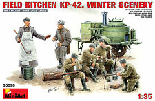 MiniArt 35098 - Field Kitchen KP-42 Winter Scenery