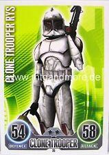 Star Wars Force Attax  Clone Trooper Rys #035