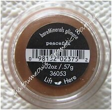 bareMinerals Bare Escentuals Peaceful Eye Shadow .57g Rust Brown Full Size