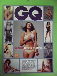 GQ 100 DONNE PIU' BELLE DEL MONDO 2003. FERNANDA TRAVARES