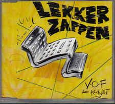 VOF de Kunst-Lekker Zappen cd maxi single
