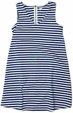 New Old Navy Maternity Sleeveless Blue Striped Ponte Dress Women's NWOT Size S