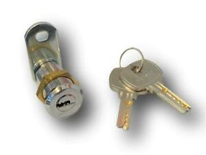 DIMPLE KEYED CAM LOCK 28MM  (REDUCING COLLARS AVAILABLE)  *FAST FREE DELIVERY*