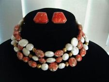 Coral Beads Handcrafted Necklaces & Pendants