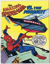 THE AMAZING SPIDER-MAN vs The Prodigy 1976 Sex Education mini-comic Spiderman