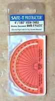 "Safe-T  Learning Resources  4"" Protractors, Set of Twelve   X45774"