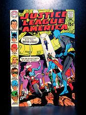 COMICS: Justice League of America #78 (1969), 1st satellite HQ/SA Vigilante app
