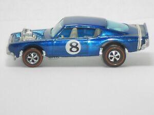 1970 Hot Wheels Redline King Kuda H.K. Blue w/wht.int. VNM-MINT!