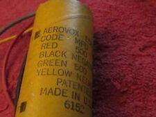 Aerovox E58C143 500 / 500 MFD 15 VDC Capacitor