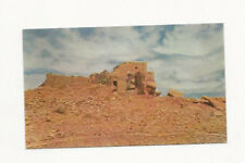 VINTAGE UNUSED UNION 76 GASOLINE POSTCARD OF THE RED WALLS OF WUPATKI