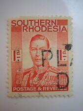 Southern RHODESIA/Zimbabwe Giorgio VI TIMBRO.