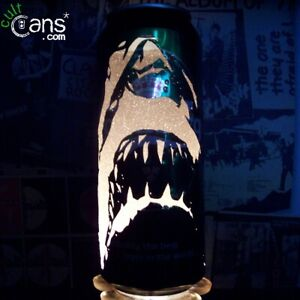 Jaws Beer Can Lantern! Steven Spielberg Movie Poster Pop Art Candle Lamp