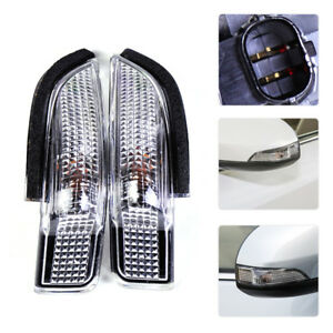 2x Side Rear Mirror Indicator Turn Signal Light 81730-02140 Fit for Toyota Camry