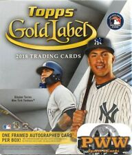 MILWAUKEE BREWERS 2018 Topps Gold Label Baseball 16Box Case Break #2