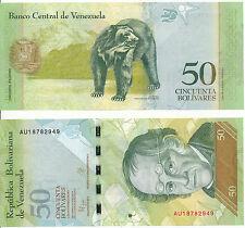 Venezuela - 50 bolivares 5. 11. 2015 UNC-pick New