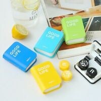 Eye Glasses Container Contact Lens Box Eyeglasses Care Case Cute Storage Durable